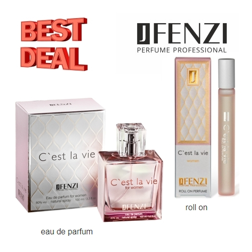 JFenzi Cest La Vie, Aktions-Set, Eau de Parfum, roll-on